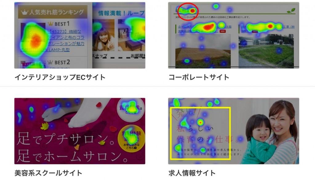 ヒートマップ分析事例|Ptengine